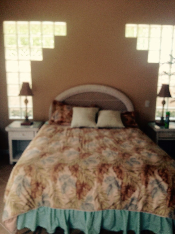 Master bedroom remodel BEFORE photo