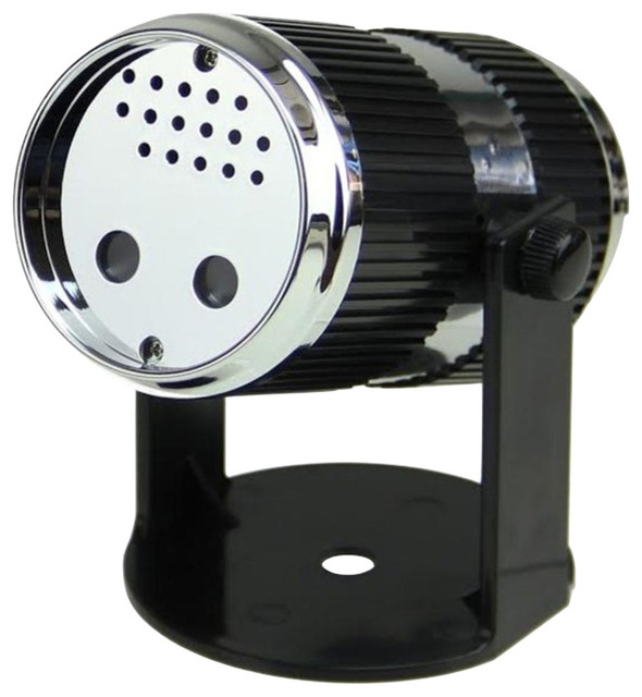 Sound Activated Dynamic Mini Christmas Laser Star Light Projector With Stand.