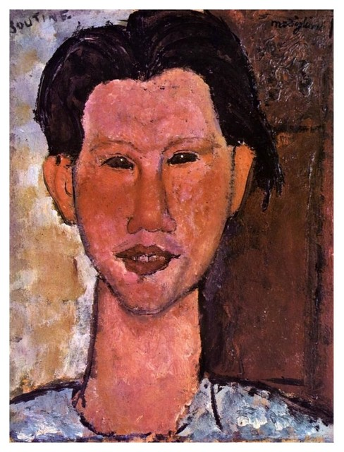 Amedeo Modigliani Portrait of Chaim Soutine art print
