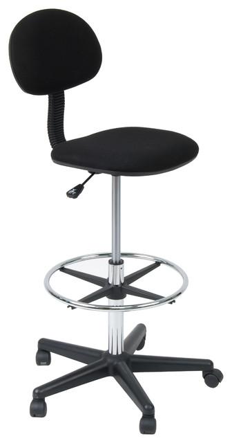 Studio Drafting Chair, Black.