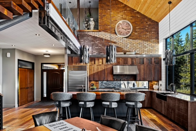 Unique Cabin With An Industrial Feel