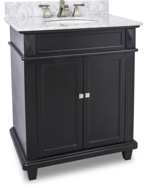 Double Wave Bowl Vanity Tops : Douglas quot vanity with preassembled marble top and bowl