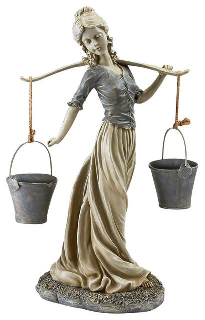 Magdalene Danish Milkmaid Statue