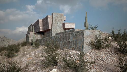 La casa Pauson Frank Lloyd Wright en diariodesign