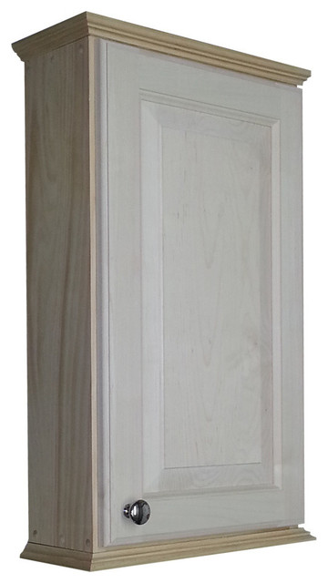 Shop Houzz | WG Wood Products Asheville Series On-The-Wall Cabinet - Medicine Cabinets