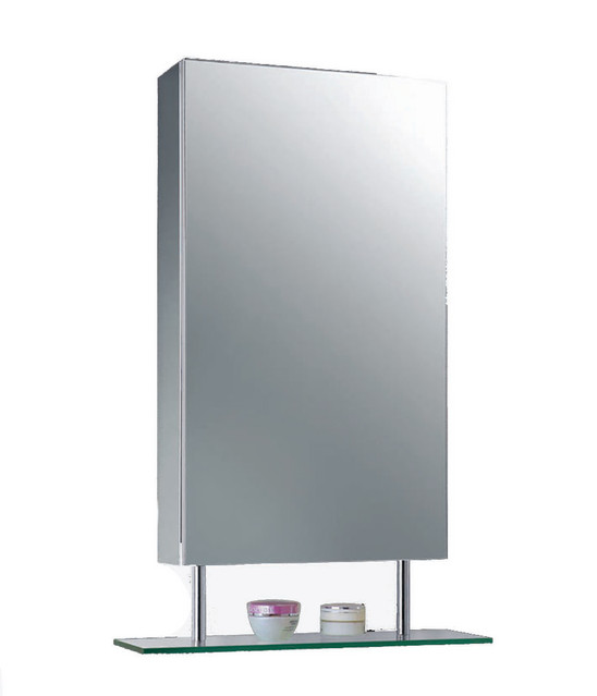 """Stainless Steel Series Medicine Cabinet, Polished Finish, 15""""x30"""""""