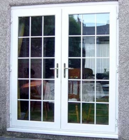 Exterior French Doors Enchanting Exterior French Doors Steele Or Fibreglass Inspiration