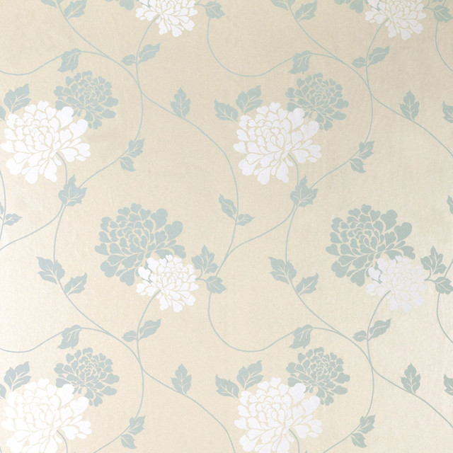 American Blinds Laura Ashley Isodore Duck Egg Pearl