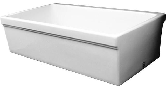 Whitehaus Collection Whq530-White Quatro Alcove Sinks White.