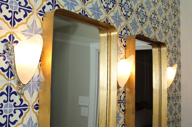Tuscan home design photo in Dallas