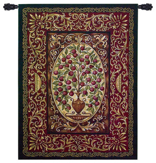 Abundance Wall Tapestry - Traditional - Tapestries - by ...