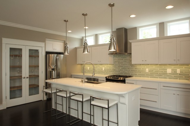 The St Clair Transitional Kitchen