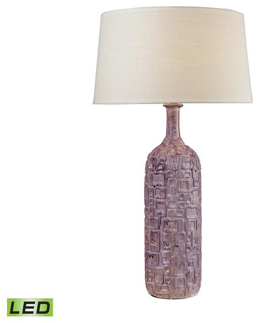 Dimond lighting cubist ceramic bottle lamp lilac view in your cubist ceramic led bottle lamp lilac transitional table lamps aloadofball Gallery