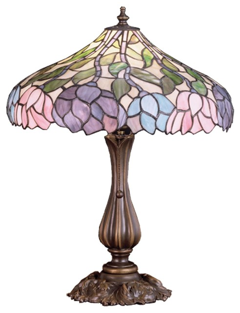 Meyda Tiffany Lamps Table Lamp, Copperfoil.