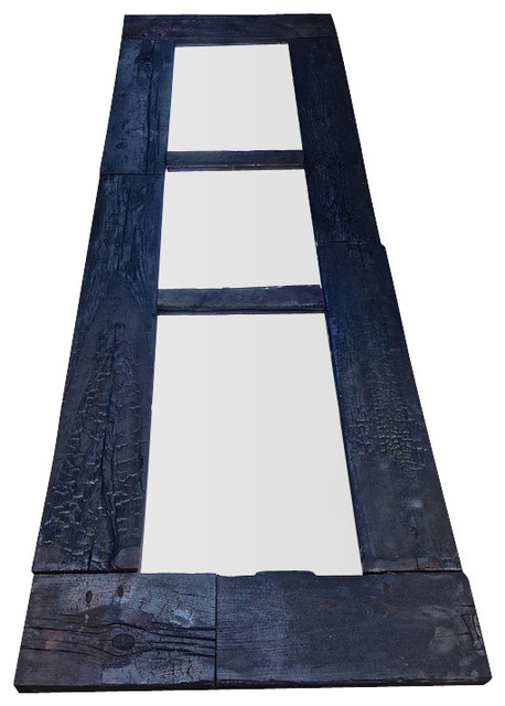 Burnt 10ft Tall Split Mirror