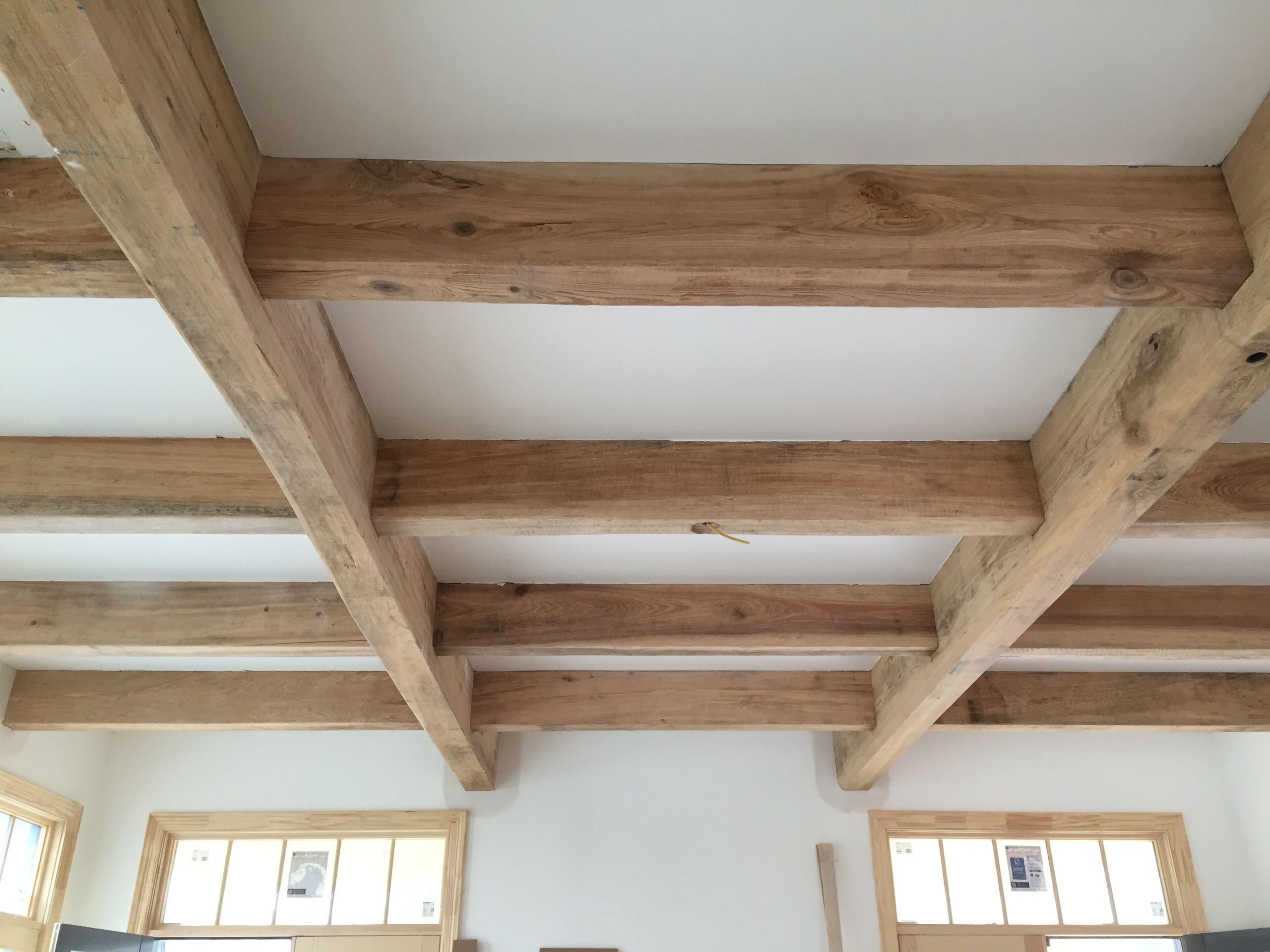 Cypress beams