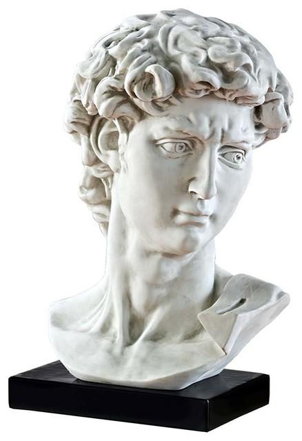 Bust Of Michelangelo's David Statue