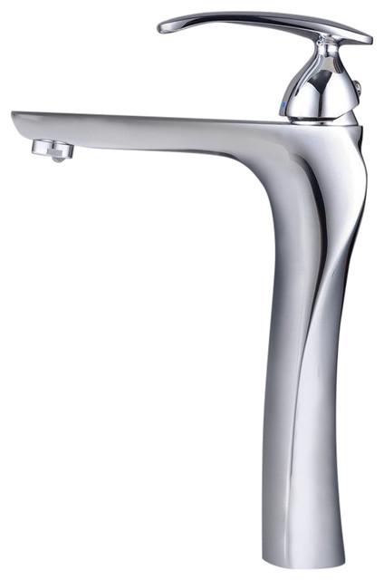 Twist Chrome-Plated Bathroom Sink Mixer Tap