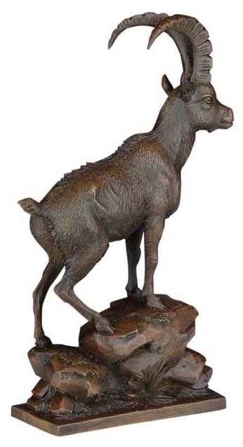 Ibex Mountain Goat Sculpture