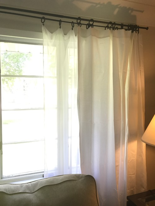 Curtains Rings And Sheers Help