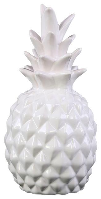 Urban Trends Collection Ceramic Pineapple Figurine