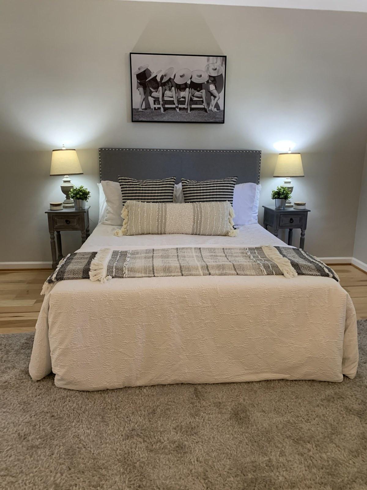Sweet Dreams Bedroom Staging