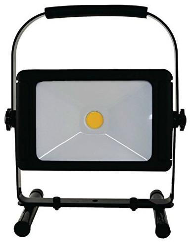 Power Zone Led Work Lights With Usb, Black, 4000 Lumens.