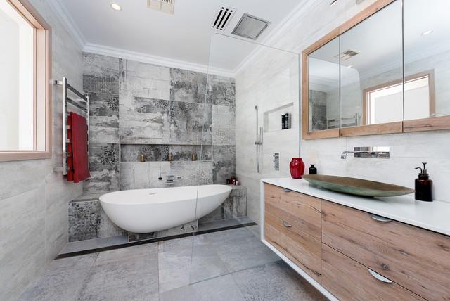 8 Reasons to Choose a Partially Freestanding Bathtub on corner tub bathroom design, copper tub bathroom design, garden tub bathroom design, shower bathroom design, cottage bathroom design, claw tub bathroom design, walk in tubs bathroom design, rectangular tub bathroom design, clawfoot tub bathroom design,