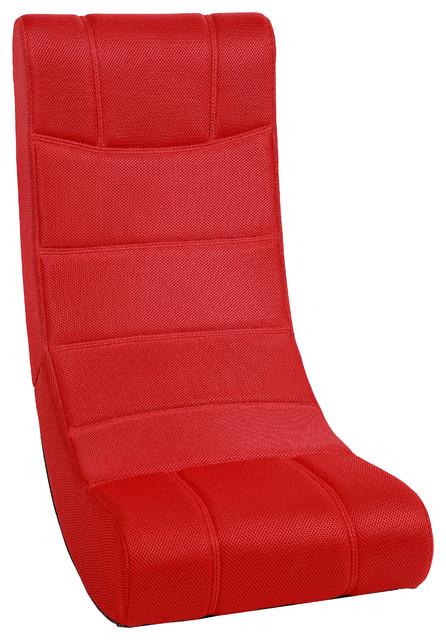 Harvil Ergonomic Video Gaming Floor Rocker Chair   Contemporary   Gaming  Chairs   By Dazadi