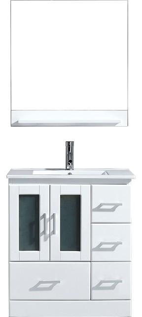 Zola Bathroom Mirrors zola vanity - contemporary - bathroom vanities and sink consoles