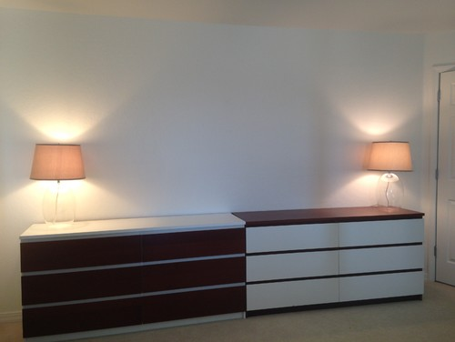 How To Style The Dresser Credenza In Master Bedroom?
