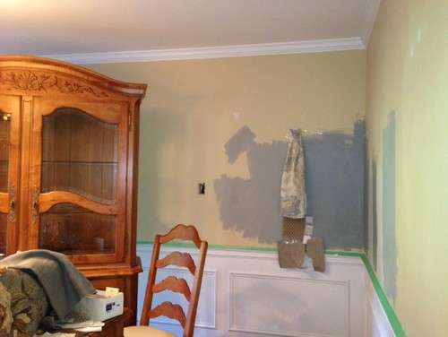 Help Decide Paint Color Sea Haze Or Puritan Gray In My