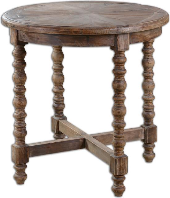 Higgins Wooden End Table.