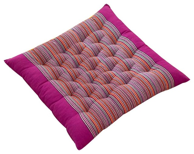 Simple Square Chair Pad Soft And Breathable Chair Cushion Seat Cushion, D5    Contemporary   Seat Cushions   By Blancho Bedding