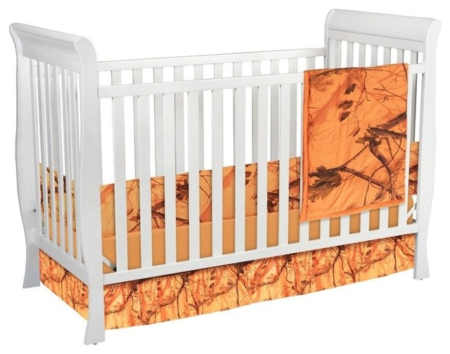 Realtree All Purpose Crib Set Blaze Orange