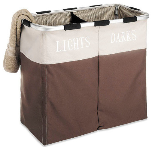 Light And Dark Laundry Hamper.