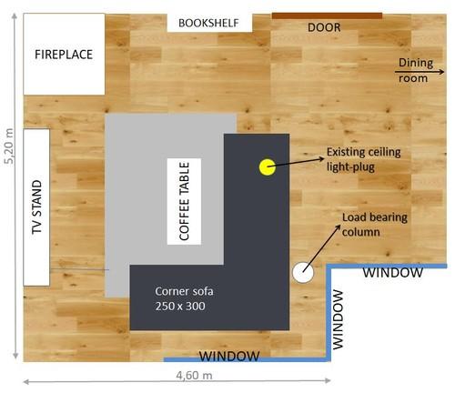 Need Help With Living Room Lighting Arrangement