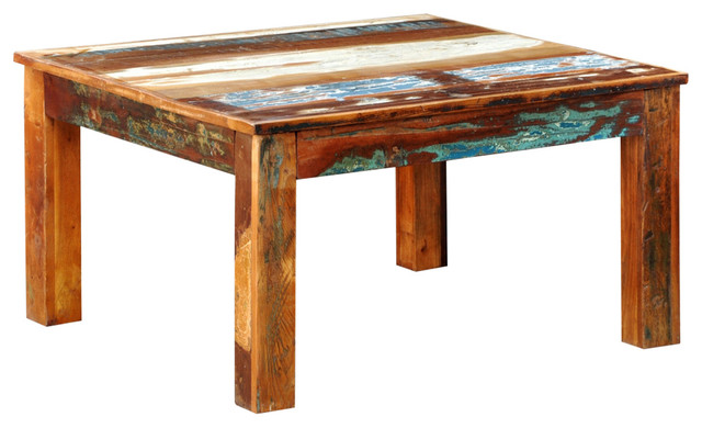 Reclaimed Wood Square Coffee Tables Houzz