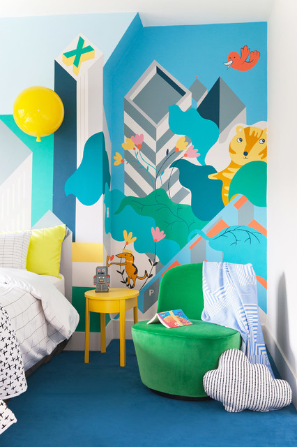 7 Of The Best Children S Wall Art Ideas And Children S Room Decorating Ideas Houzz Uk