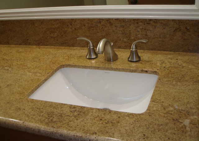 unique undermount bathroom sinks custom granite with undermount sink and kohler wide spread 21165