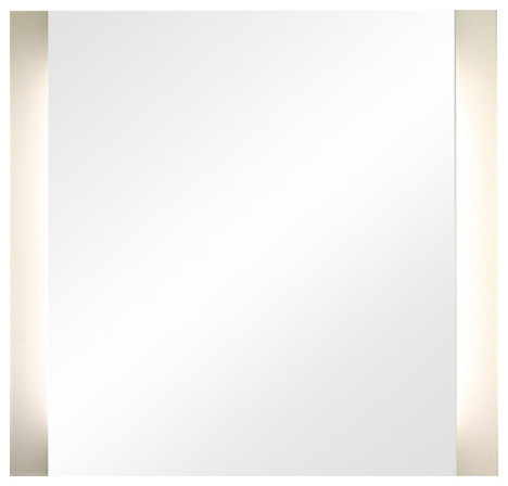 Dimmable Led Vertical Sides Illuminated Mirror.