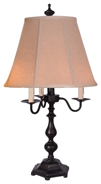 Richmond Table Lamp With Tan Shade