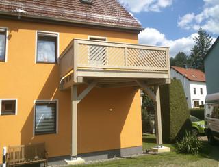 einst ckige balkone und terrassen mediterran balkon dresden von holztechnik l tzsch gmbh. Black Bedroom Furniture Sets. Home Design Ideas