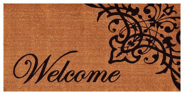 Scroll Welcome Doormat 3'x6' by Home & More