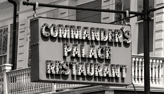 Commander S Palace Kitchen Black And White