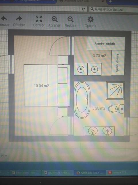 Optimisation chambre salle de bain dressing for Dressing entre chambre et salle de bain