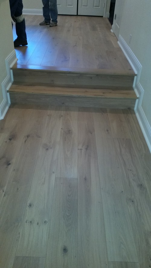 Recent hardwood job Danville