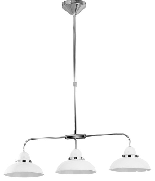 3 shade Jasper pendant lamp - is the length adjustable?