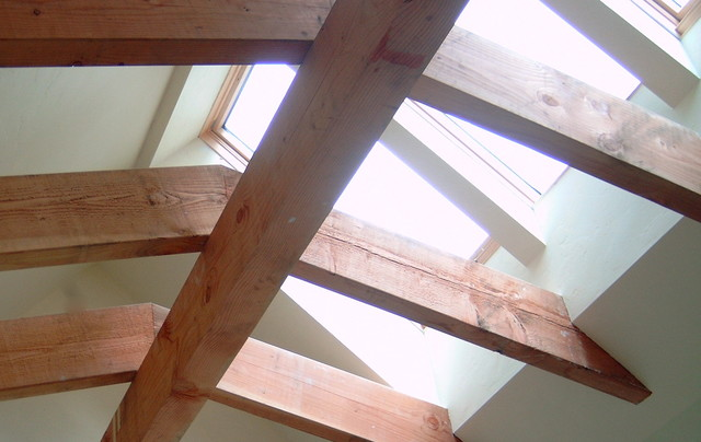 Large skylight over stairs other by james hill for Large skylights