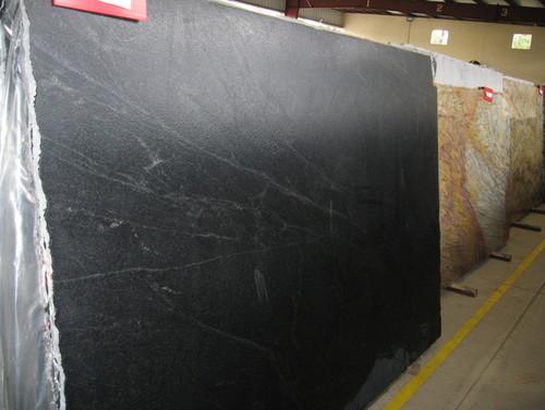 Black Leather Granite : Black leather granite brazilian